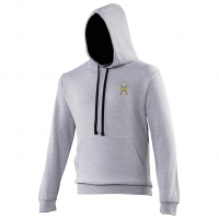 Hoodie Heather Grey/French navy