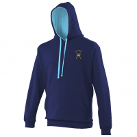 Hoodie Oxford Navy/Hawaiian Blue