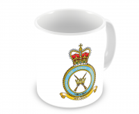 RAF Regiment Motif Mugs + Squadron Badge Of Your Choice