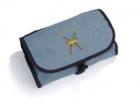 Air Force Blue Wash Bag with Cross Guns Motif