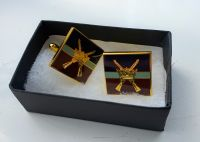 RAF R Crossed Rifles Cufflinks