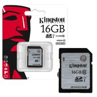 Kingston 16GB Class 10 SDHC memory card