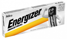 Energizer Industrial AA LR6 Batteries Box of 10