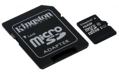 Kingston 16GB Class 10 Micro SD Card & Adaptor