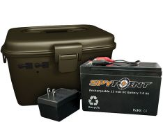 SpyPoint 12V External Battery Kit