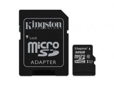 Kingston 32GB Micro SD Card + SD Adapter
