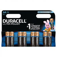 Duracell Ultra Power AA Batteries (pk 8)