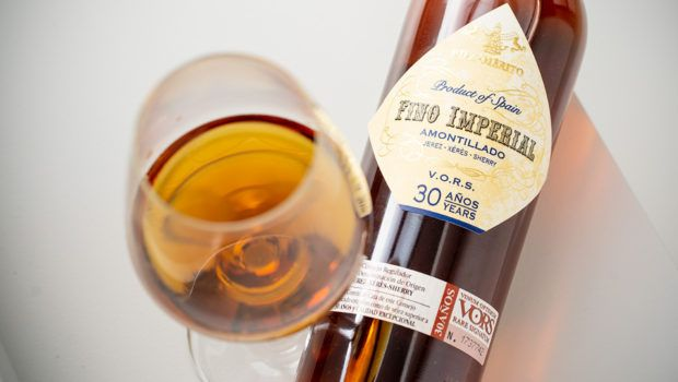 Marques de Merito Fino Imperial Amontillado 30 yrs old Sherry 18% 75cl, 94 Parker points. Very limited stocks!