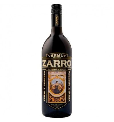 Zarro Red Reserva Vermouth from Madrid litre 15% vol.