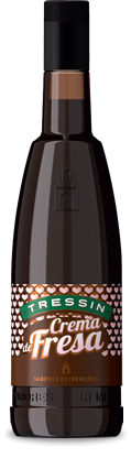 Crema De Fresa (Strawberries and Cream) Liqueur Sabores 15% 70cl