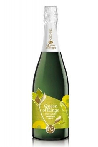 Queen of Kings Brut Nature Sauvignon Blanc Organic/Vegan Sparkling wine
