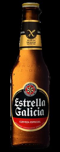Estrella Galicia Gluten-Free 5.5% 24 x 330ml Case
