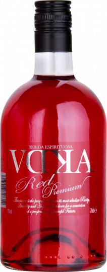 VDKA Licor de Vodka Red Fruits 17%