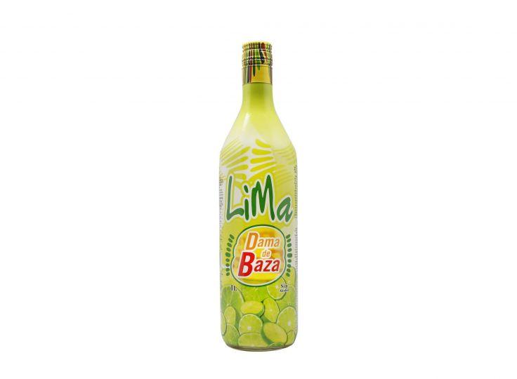 Lime Syrup, Dama de Baza Litre 0% (Gluten-free)