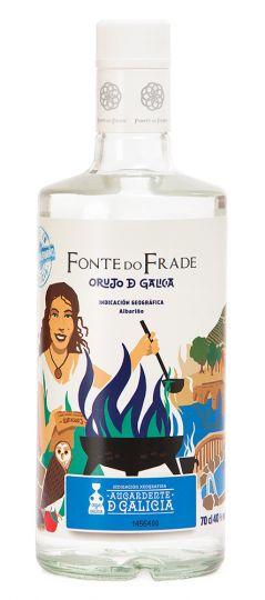 Fonte do Frade Aguadiente de Orujo D Galicia 40% 70cl