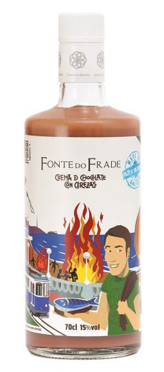 Crema de Chocolate with Cherry, Fonte do Frade, 70cl 15%