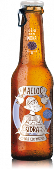 Maeloc Blackberry Cider 4% (Vegan & Gluten-free) 24 x 330ml Case