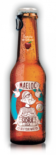 Maeloc Dry Apple Cider 4.5% (Vegan & Gluten Free) 24 x 330ml case