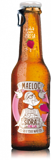 Maeloc Strawberry Cider 4%(Vegan & Gluten Free) 24 x 330ml case