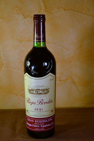 Rioja Bordon Gran Reserva 1994