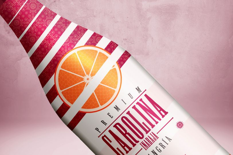 Carolina Sparkling Sangria with Orange 5.5%