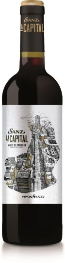 Sanz La Capital Tempranillo Roble DO Madrid 2016