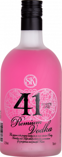 41 Premium Pink Vodka 37.5% 70cl