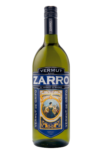 Zarro White Vermouth from Madrid litre 15% vol.