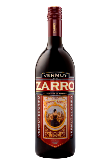 Zarro Red Vermouth from Madrid litre 15%vol.
