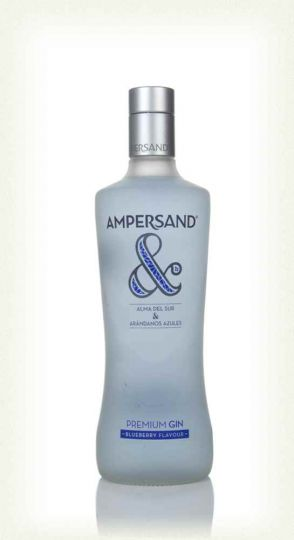 Ampersand Blueberry Flavoured Premium Gin 37.5% 70cl