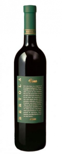 Bertola Fino Sherry half bottle