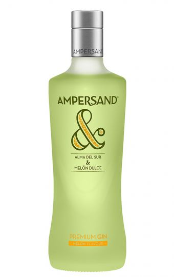 Ampersand Melon Flavoured Premium Gin 37.5% 70cl
