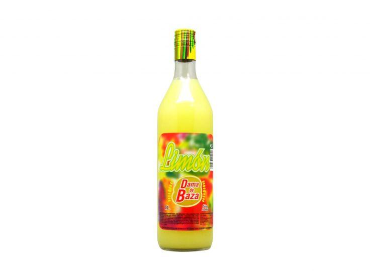 Lemon Syrup, Dama de Baza, Litre 0% (Gluten-free)