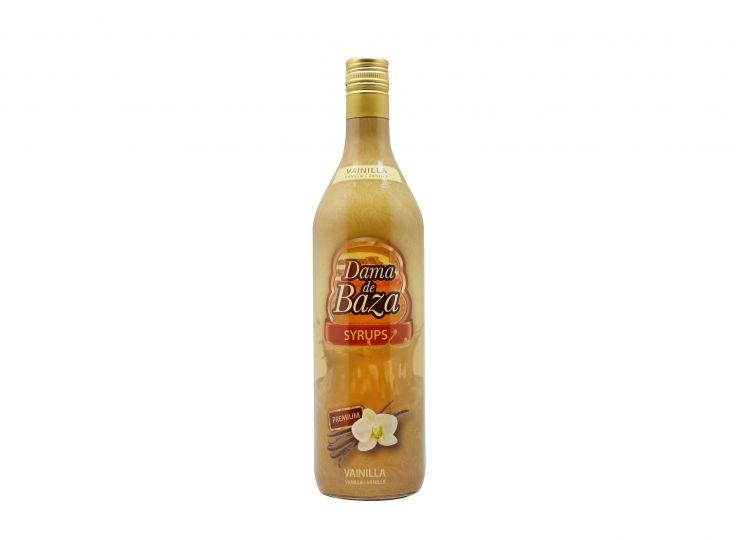 Vanilla Syrup, Dama de Baza, Litre 0% (Gluten-free)