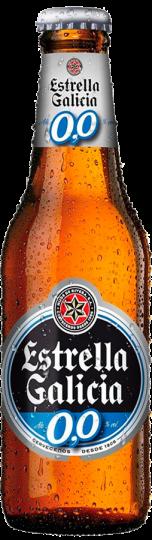 Estrella Galicia 0,0 alcohol free