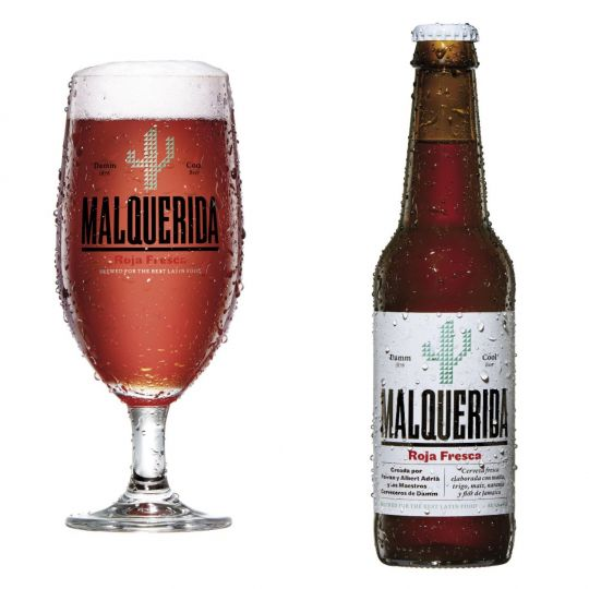 Malquerida Fresh Red Beer from Barcelona 5% 24 x 330ml case