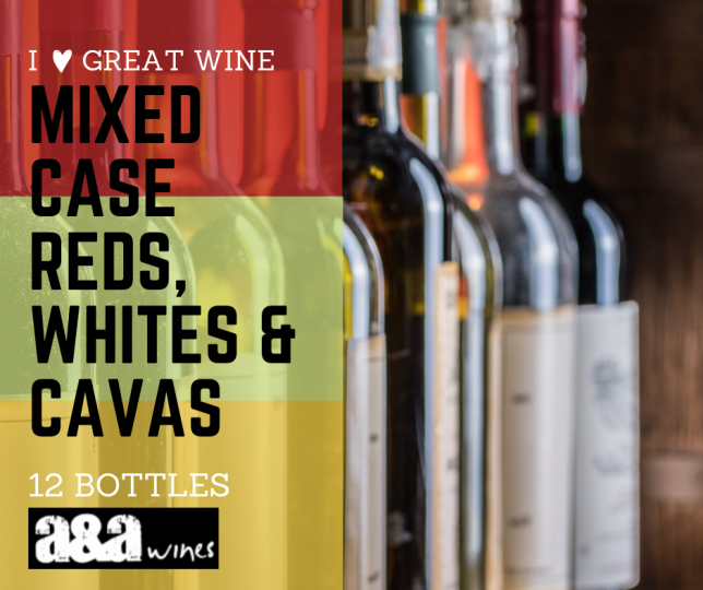 I Love Great wines - Directors' Choice Mixed Case - 1 Great Cava 5 Great Whites & 6 Great Reds