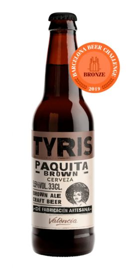 Tyris Craft Paquita Brown Bitter Ale 5.5% 24 x 330ml Case