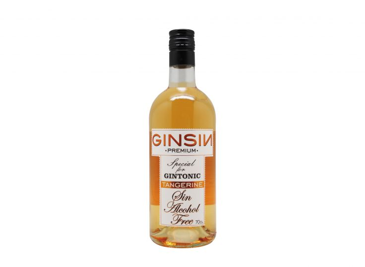 Ginsin Tangerine Flavour 0% alc. Alcohol Free Gin