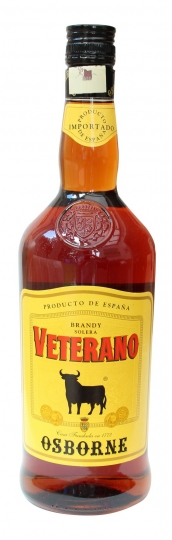 Osborne Veterano Brandy Litre 30%alc. by vol.