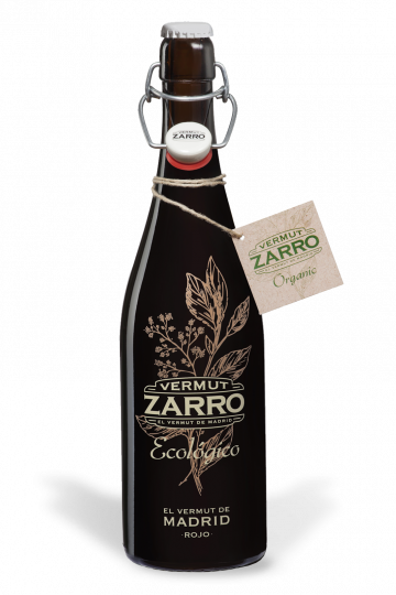 Zarro Organic Vermouth 75cl 15% vol. Vegan
