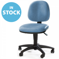 Sky Blue Operators Chair (In Stock)