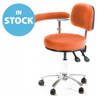 Orange Multi Procedures Chair with 360° Swing Arm (In Stock)