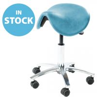 Sky Blue Ergonomic Saddle Stool (In Stock)