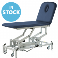 Dark Blue Hydraulic Therapy 2 Section Couch (In Stock)