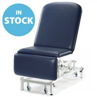 Dark Blue Medicare Bariatric Drop End Couch (In Stock)