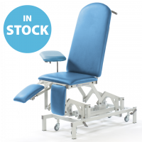 Sky Blue Electric Medicare Orthopaedic Couch (In Stock)