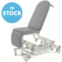Light Grey Electric Medicare Multi Couch - Single Footrest (In Stock)