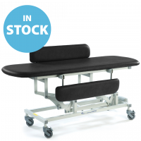 Black Electric Sterling Changing Table with Side Support Cushions (In Stock)