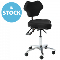 Black Surgeons & Sonographers Chairs (In Stock)